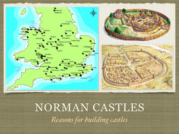 GCSE History Norman Castles