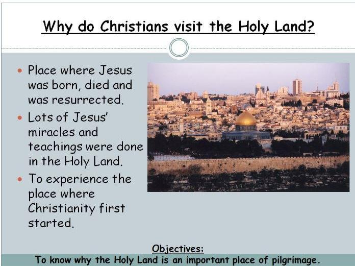 Pilgrimage: Holy Land