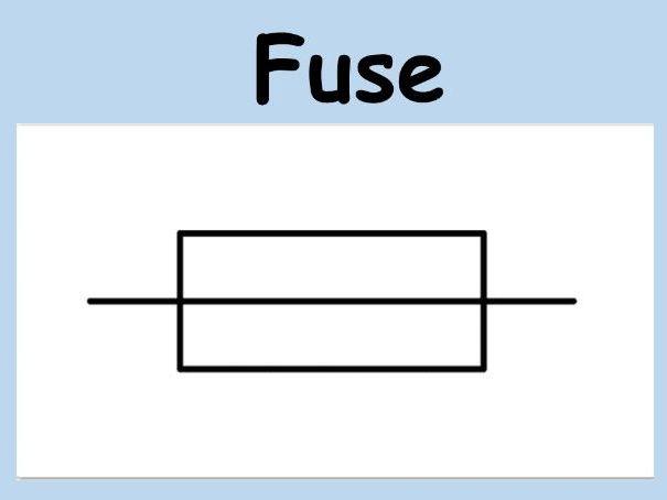 Circuit Symbols Classroom Display/ Science Flash Cards