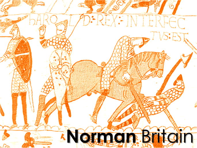 Norman invasion of Britain for KS3 students