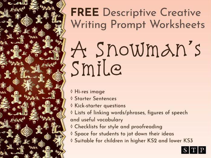 Christmas Descriptive Creative Writing Story Prompt KS2 03