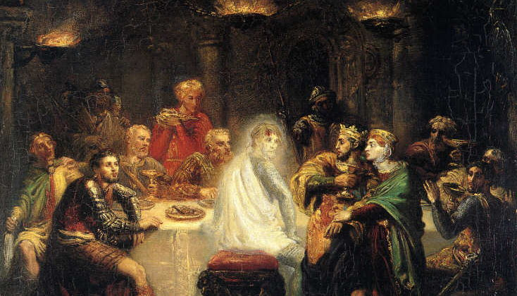 Macbeth: Act Three, Scene Four - Banquo's Ghost