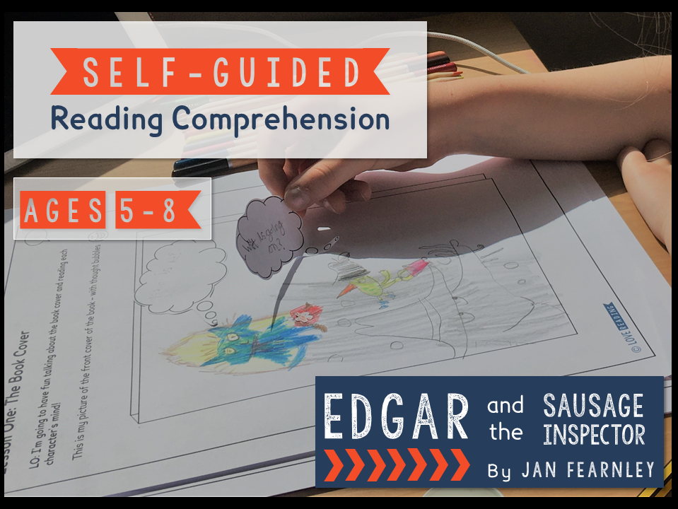 Self-guided reading comprehension - Edgar and the Sausage Inspector