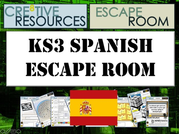 MFL Escape Room - Basic Spanish Language