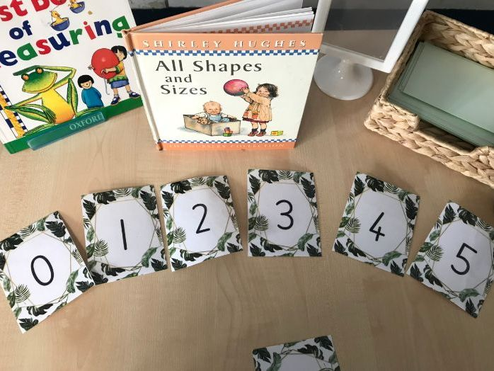 Number Flashcards 0 to 20