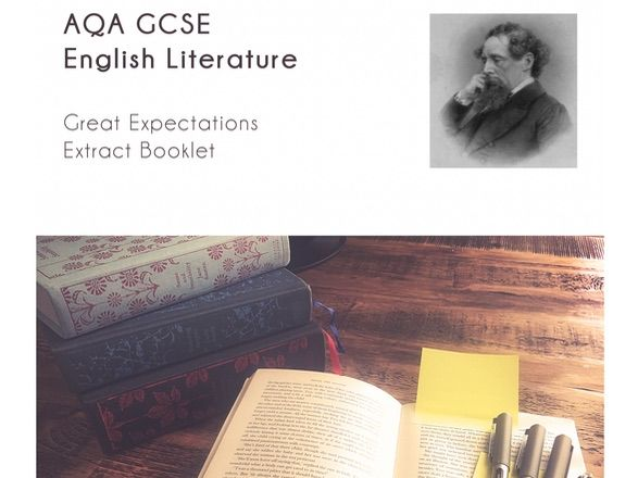 AQA GCSE Lit 'Great Expectations' extract booklet