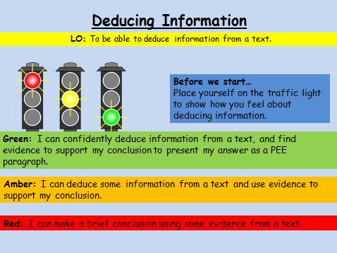 Deducing Information