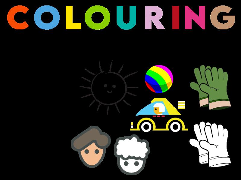Colouring Using Colour Keys Worksheets KS1