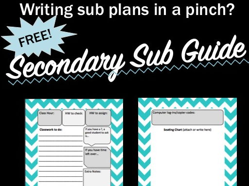 Secondary Sub Guide