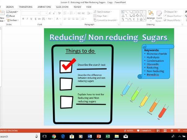 reducing sugar test