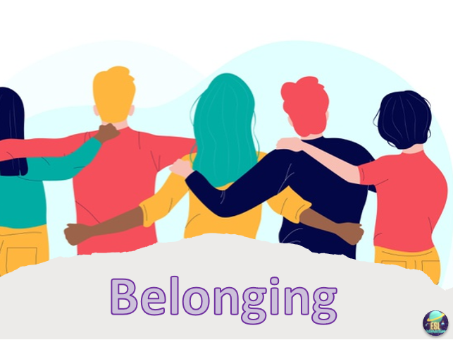 Belonging. ESL PowerPoint Lesson for Teens and Adults. B1/B2 Level