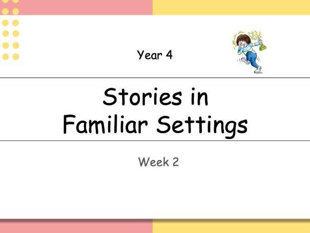 Year 4: Horrid Henry - Stories in Familiar Settings (Week 2 of 2)