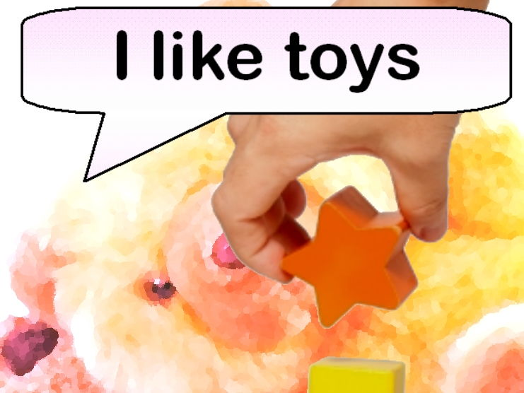 I Like Toys (Rhyming picture book)