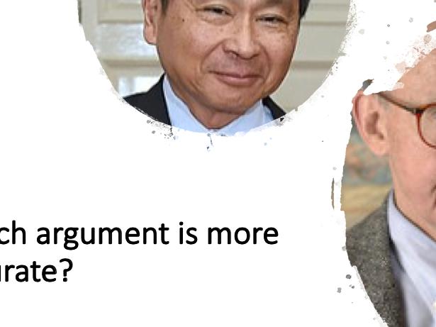 Global Politics: Fukuyama and Huntingdon