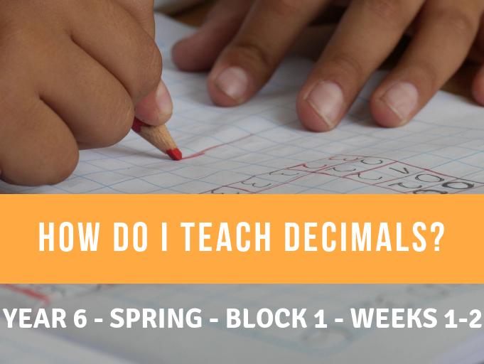 Decimals Year 6 Spring Block 1 Weeks 1 and 2