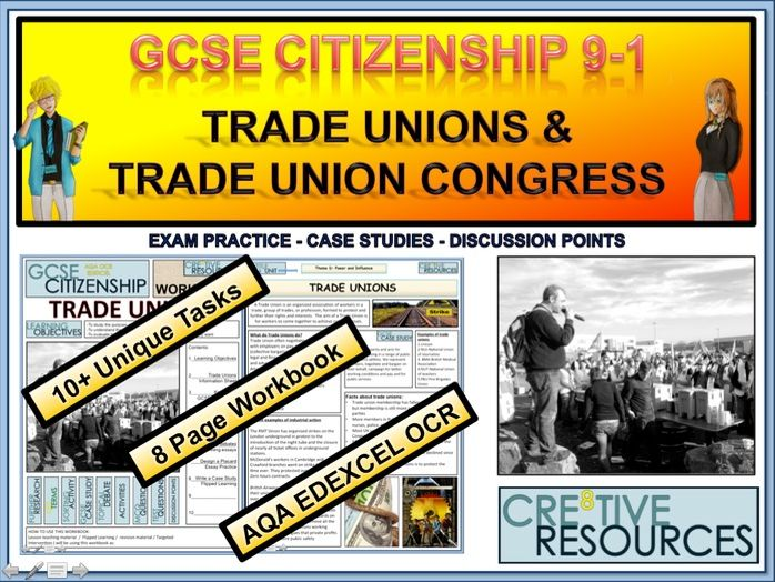 Trade Unions and Trade Union Congress Work Booklet