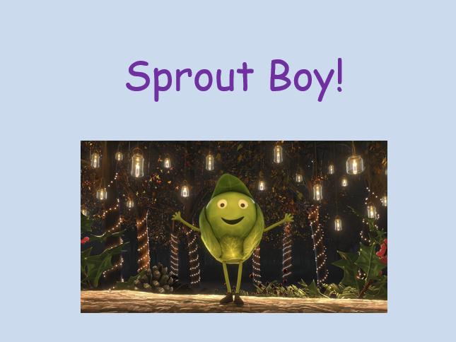 Sprout Boy - speech bubbles