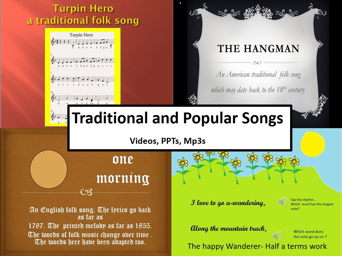 Traditional  and popular Songs