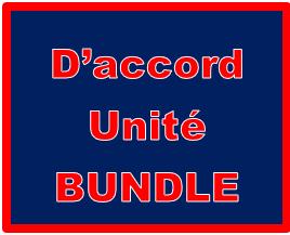 D'accord 2 Unité 2 Bundle