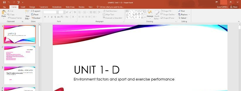 SAMPLE BTEC SPORT AND EXERCISE SCIENCE D