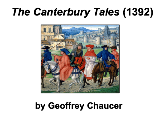 The Canterbury Tales (Chaucer) - KS3