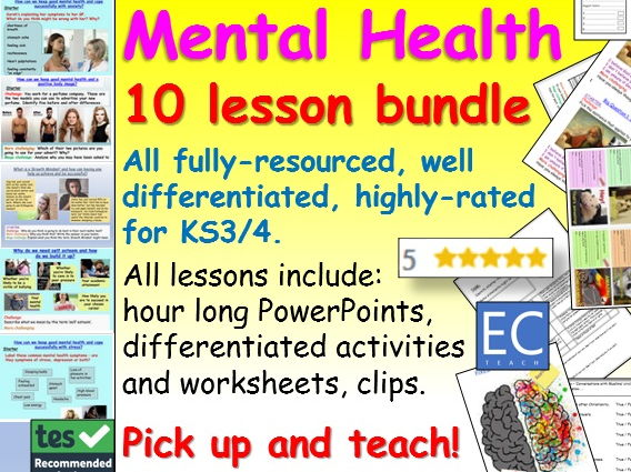 Mental Health: Mental Health Bundle
