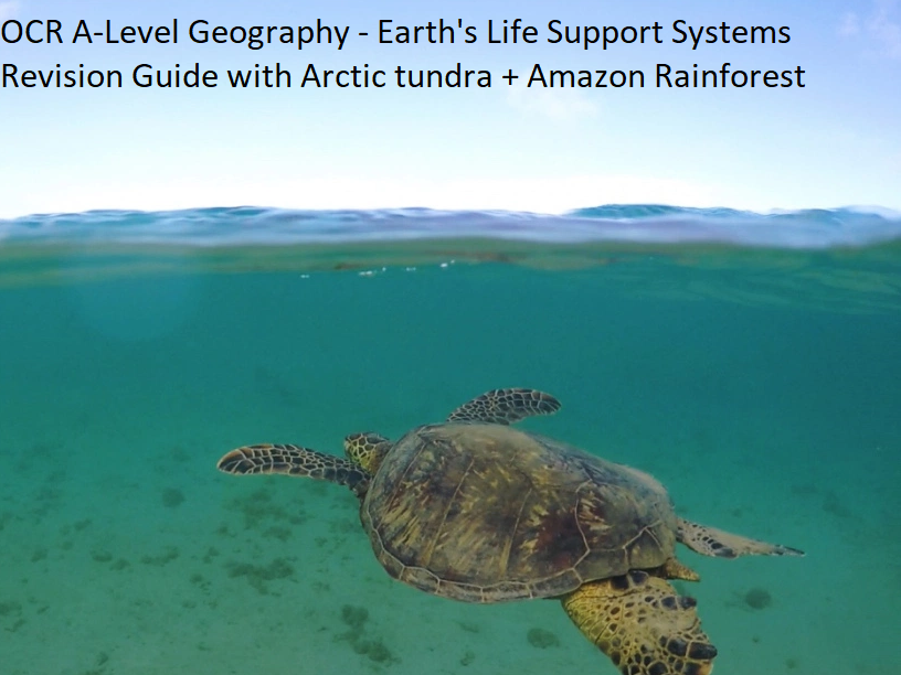 OCR A-Level Geography - Earth's Life Support Systems Revision