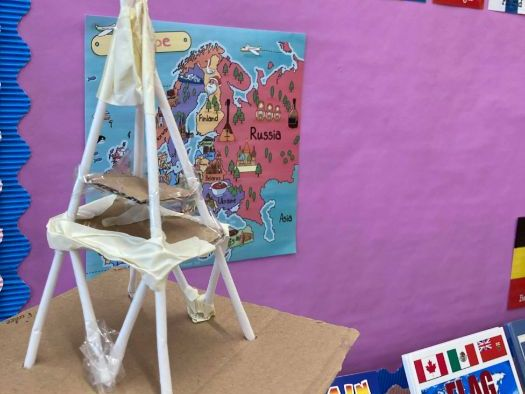 Eiffel Tower making Design and Technology project
