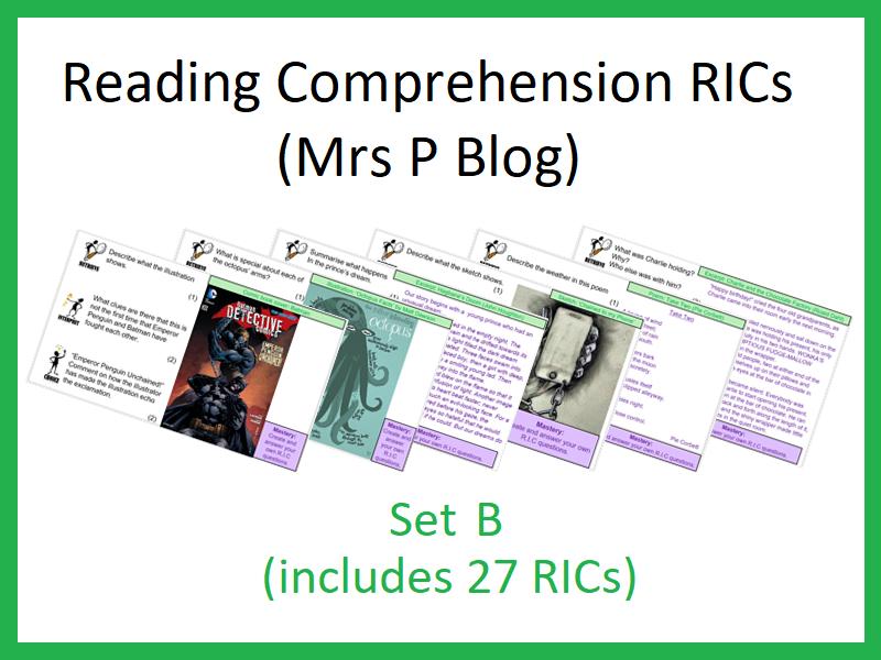 RICS Set B (Reading Comprehension)