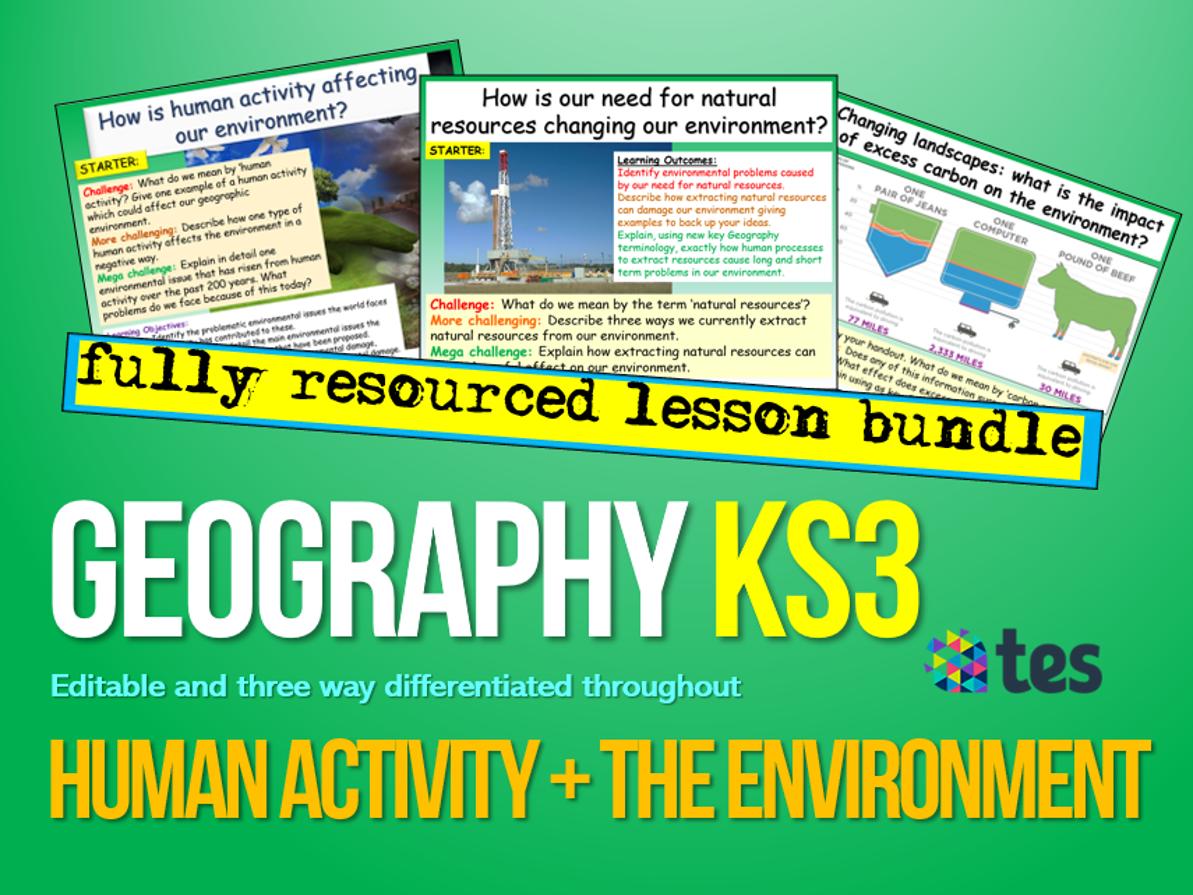 Humans, Global Warming and Environment
