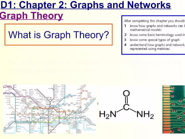 Decision 1 Chapter 2 Graphs and Networks