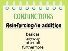 Conjunctions Display Posters