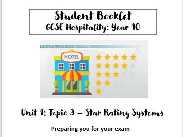 Star Rating Systems - Hospitality Industry