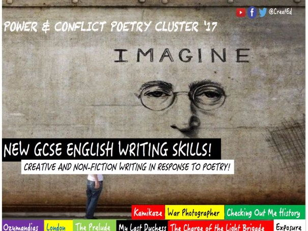 developing creative and non fiction gcse english writing