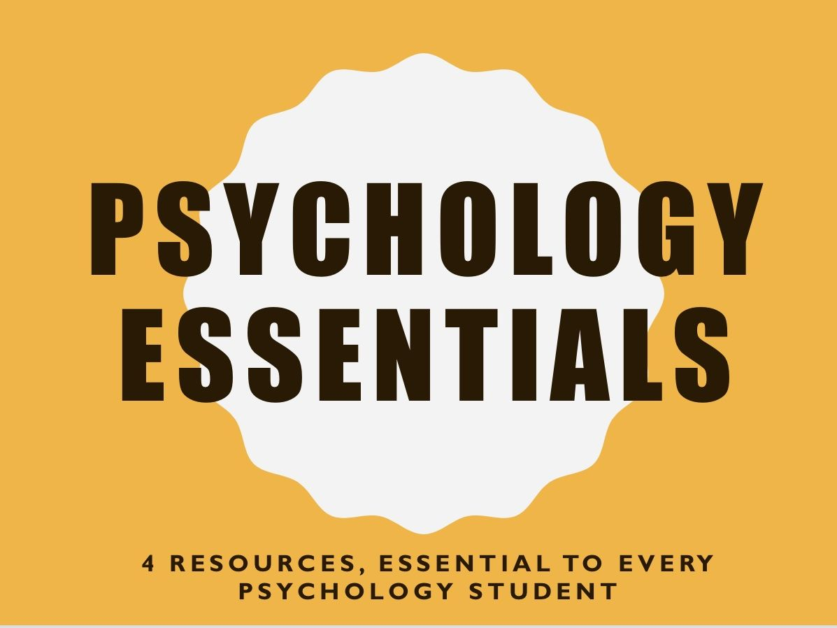 Psychology Essentials
