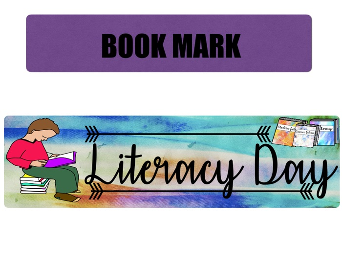LITERACY DAY BOOK MARK