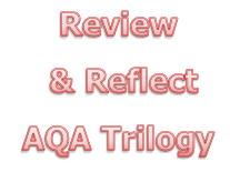 AQA Trilogy KS4 Unit B4.2 heart and blood review & reflect worksheet
