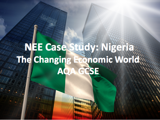 The Changing Economic World - Nigeria: A Newly-Emerging Economy