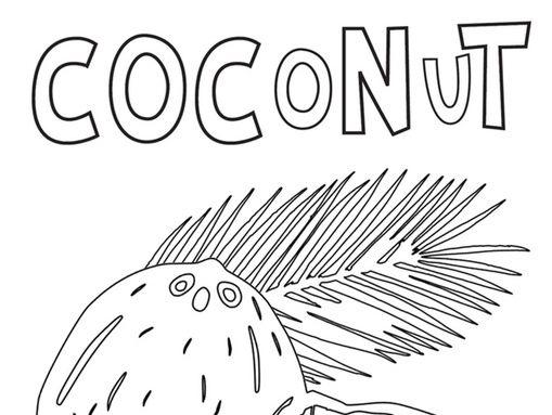 Coconut tasting.