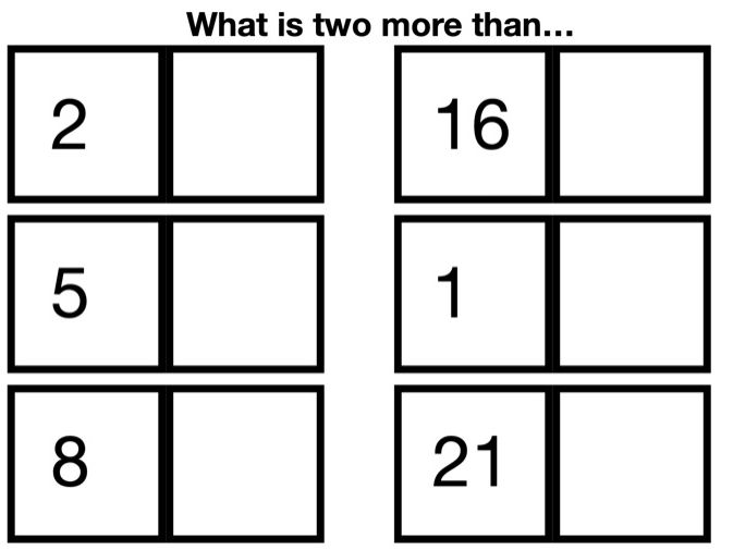 More Than Two Worksheet