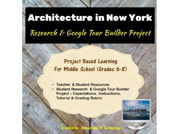 Google Tour Builder - Explore the Architectural Landmarks of New York City