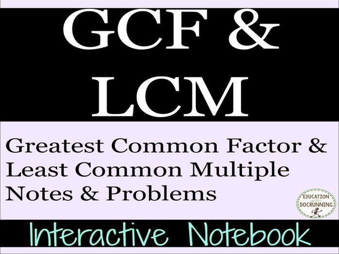 gcf lcm relationship advice