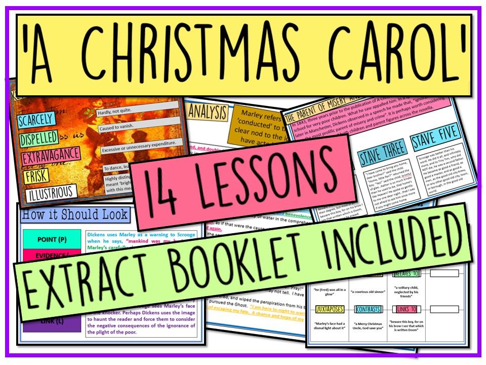 A Christmas Carol GCSE Revision Pack