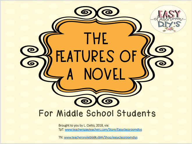 The Features of a Novel