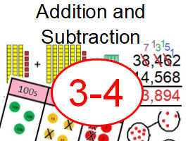 Year 3 & 4 - Autumn – Addition and Subtraction - White Rose Inspired - Home/School Learning