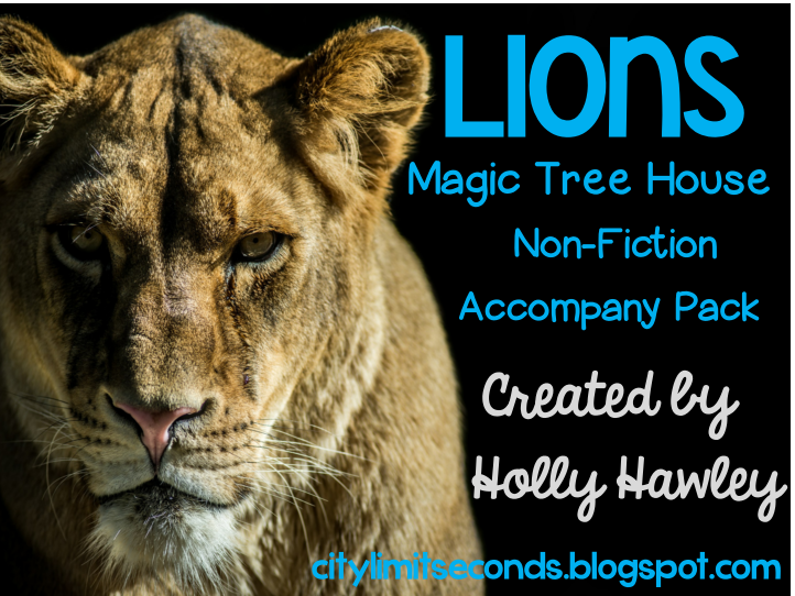 Lions: A Non-Fiction Magic Tree House Accompany Pack