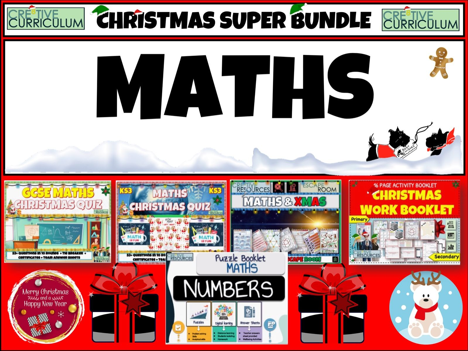 Maths Christmas Super Bundle