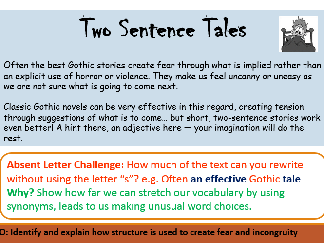 Two Sentence Tales