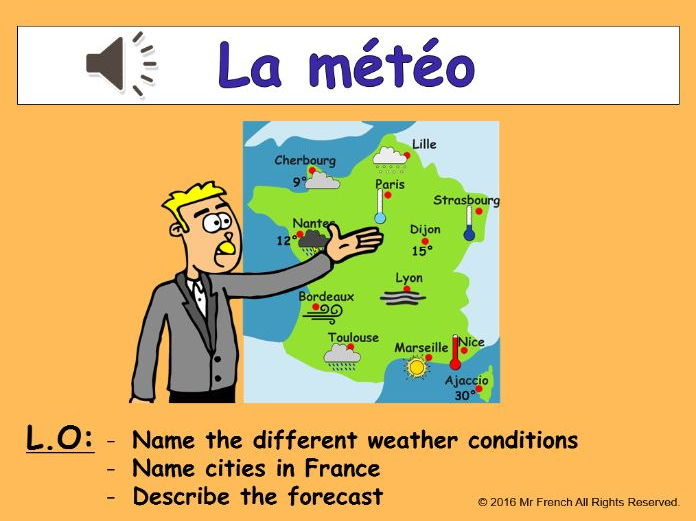 Weather Report For Kids