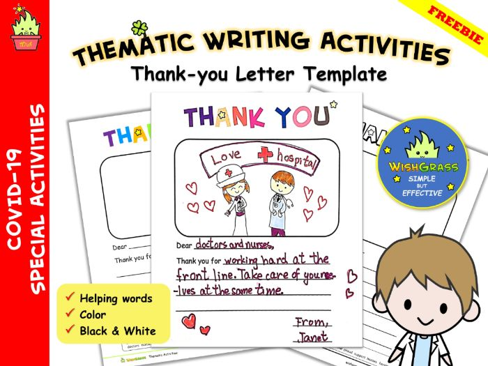 COVID-19 Thank-you Letters to All Our Heroes & Heroines- template